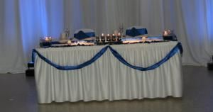 Gold Reception Package, The Palmetto Club/GEI Catering, Daytona Beach
