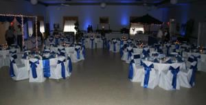 Platinum Reception Package, The Palmetto Club/GEI Catering, Daytona Beach