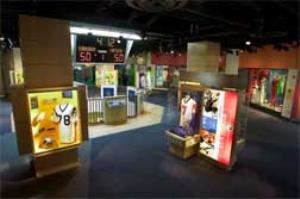 Exhibit Area, Virginia Sports Hall Of Fame, Portsmouth