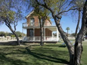 Foreman's Lawn & Porch, Sahuaro Ranch Park Historic Area, Glendale — Includes the porch and surrounding lawns. 7,700 sq Ft. Electricity available.