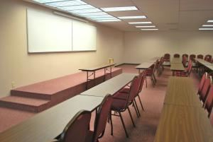 Maple Room- All day package, Spring Branch Meeting Rooms, Houston — The Maple Room platform/stage
