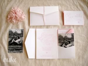 Cake | Letterpress Wedding Invitations