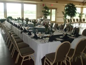 Buffet Menus (50 or more guests - starting at $18 per person), The Dunes At Kamloops, Kamloops — a small intimate wedding dinner for 30 people, two course dinner served. Plated dinners are available for receptions smaller than 50 people.