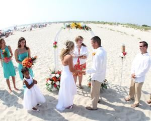 Linda Moore Weddings - Cape May Point