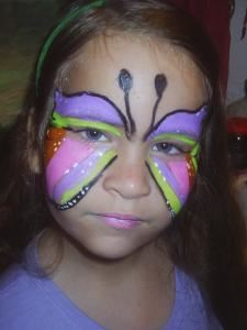 Artistic Face Painting with Cindy Lou and Lisa 2