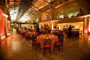 Grand Hall + Port Commission Hearing Room , Ferry Building, San Francisco — Wedding