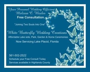 White Butterfly Wedding Creations