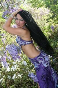 Atlanta Hula and Belly Dancer Suzanne