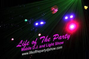 Life of the party mobile dj show - Gatlinburg
