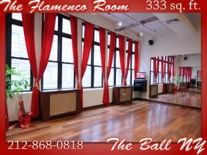 Flamenco Room, The Ball NY Dance Studios, New York