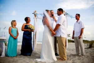 Full Wedding Ceremony Without Rehearsal, Reverend John Bennett ~ New Path Ceremonies, Rockledge