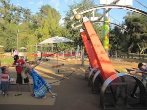 Galvin Physics Forest, Kidspace Children's Museum, Pasadena