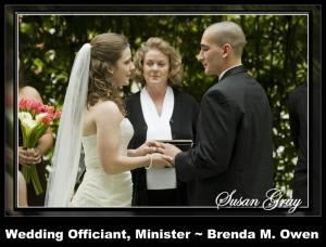 Brenda M. Owen - Wedding Officiant & Minister ~ Highlands