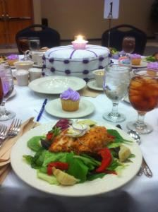 Buffet Packages as low as $10.99 per person, Adam W. Herbert University Center, Jacksonville — Zesty Lemon Chicken Salad at the 10th Anniversary Luncheon.