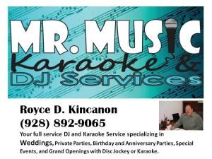 Mr. Music Karaoke and DJ Services