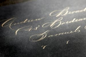 Bella Grafia Calligraphy & Wine Bottle Engraving