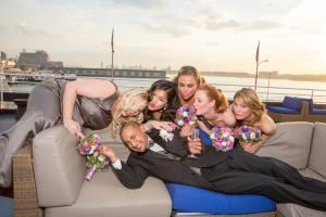 The Wedding Reception., Yacht Events By Steven Tanzman, New York — Yacht Events