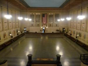 Entire Facility, Baltimore City War Memorial, Baltimore — Memorial Hall-- Up to 1,100 people can fit in this room.