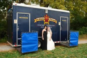 A King's Throne portable restrooms