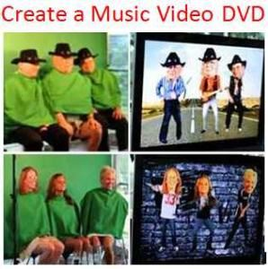 Create a Music Video DVD - Austin Area