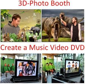 3D-PhotoBooth or Create a Music Video - Austin