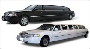 Lincoln Town Car Stretch Limo (White And Black), 416 Limo, North York