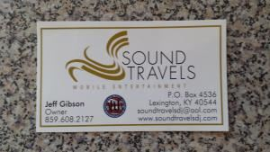 Sound Travels Mobile Entertainment