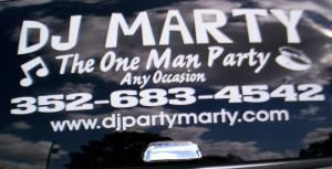DJ Marty The One Man Party