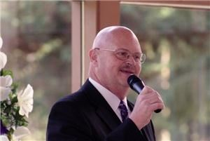 Weekday (Mon through Thursday) full service wedding as low as $200, Chaplain Dale's Weddings, Monroe — Comfortable and reassuring in front of your guests, Chaplain Dale has addressed over 5000 audiences.  Your wedding, though, is the audience that counts!
