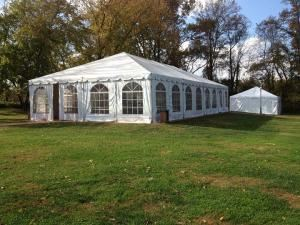 8-Hour Woodlawn Tent, Manor House & Grounds Rental, Woodlawn Manor, Sandy Spring
