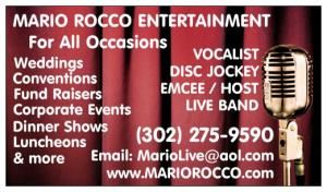 Mario Rocco Entertainment - DJ / Vocalist