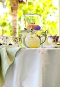Tea Room, White Orchid At Oasis, Fort Myers