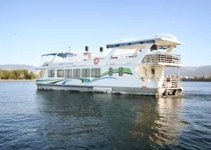 Classic Okanagan Lake Wedding Reception Cruise Package, The Lake Lounge on Okanagan, Kelowna — The Lake Lounge.  The Okanagan's largest, newest, and safest dinner boat.