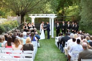 Ceremony & Reception - Saturday Outdoor Ceremony Indoor Reception, Commellini Estate, Spokane