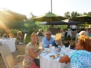 Outdoor Patio Area, Cypress Point Country Club, Virginia Beach