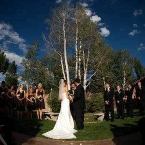 Weddings Start At $2500, Villa Parker, Parker — The Villa's grounds have many different options for on-site ceremonies! Tie the knot at your favorite location!