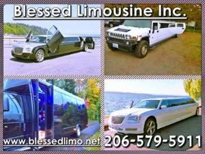 Blessed Limousine And Town Car Service, Seattle — Choose from a variety of vehicles in our  large fleet