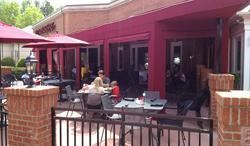 Patio, Red Rocks Cafe - Charlotte, Charlotte