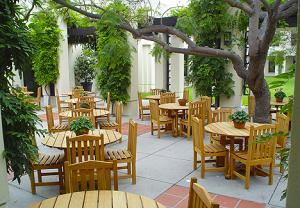 Dining Terrace, Beckman Center, Irvine