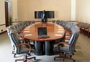 Boardroom, Beckman Center, Irvine