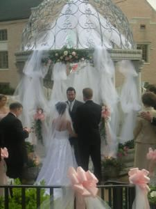 Wedding Ceremony , The Marlow House, Marietta