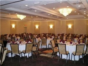 Full Day Corporate Meeting, Crowne Plaza Monroe South Brunswick, Monroe Township — Our Renaissance Ballroom can accommodate banquets up to 150 guests.