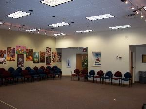 Community Room, Winter Park Public Library, Winter Park — Our 1st floor Community Room is 31' by 33'.