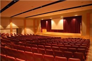 Conference Packages From $26.10, Arkansas 4-H Center, Little Rock — Fixed theater style setting for 500 with modern touch screen to control built in audio-visual equipment.