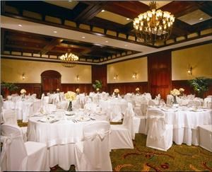 Grand Ballroom, Hollywood Beach Marriott, Hollywood — The ideal Ballroom in the ideal location.  Elegance and versatility are offered in this room.