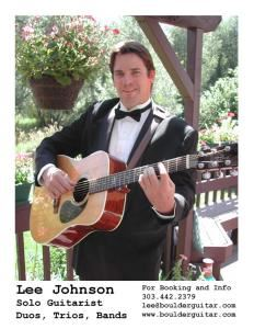 Lee Johnson Guitarist