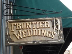 Frontier Weddings, Black Hills Wedding Chapel Officiant, Deadwood