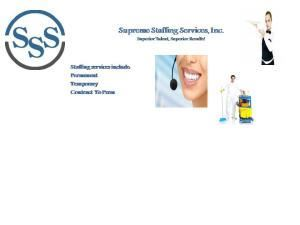 Supreme Staffing Services, Inc.