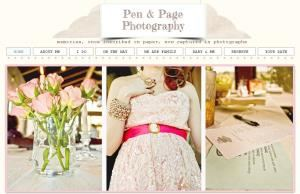 Pen and Page Photography