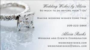 Wedding Wishes by Alicia